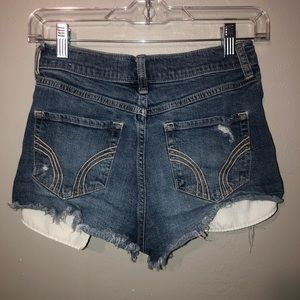 Hollister High Rise Vintage Shorts